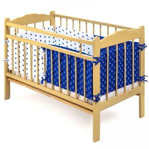 Бампер в детскую кроватку Мозайка