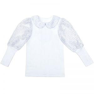 Блузка для девочки Белая №1