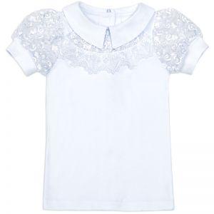 Блузка для девочки Белая №11