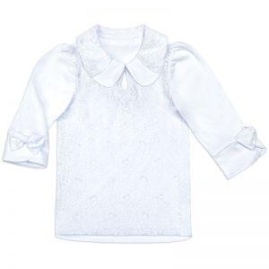 Блузка для девочки Белая №14