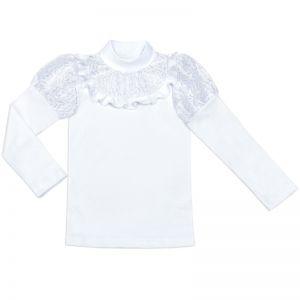 Блузка для девочки Белая №20