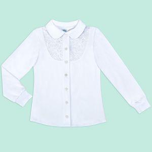 Блузка для девочки Белая №22