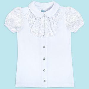 Блузка для девочки Белая №23