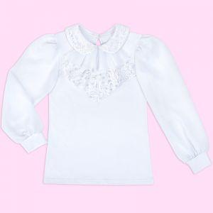Блузка для девочки Белая №25