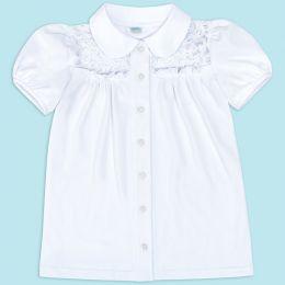 Блузка для девочки Белая №26
