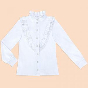 Блузка для девочки Белая №30