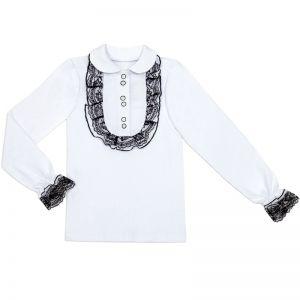 Блузка для девочки Белая №3
