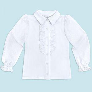 Блузка для девочки Белая №31