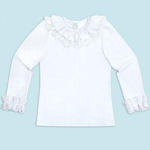 Блузка для девочки Белая №35