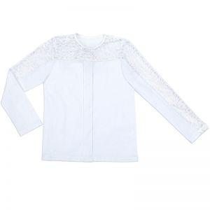 Блузка для девочки Белая №4