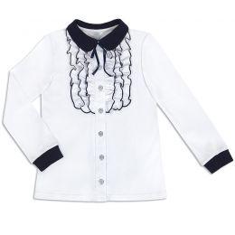 Блузка для девочки Белая №41