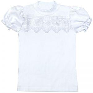 Блузка для девочки Белая №8