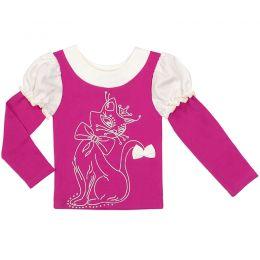 Блузка для девочки Кошечка №2