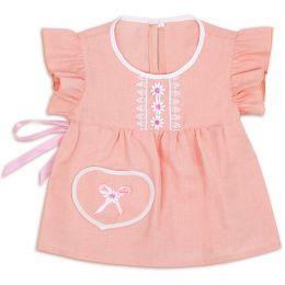 Блузка для девочки Лен