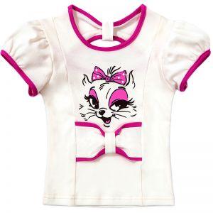Блузка для девочки Мяу