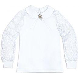 Блузка для девочки белая №39
