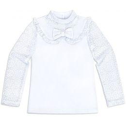 Блузка для девочки белая №40