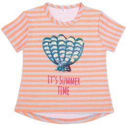 Футболка для девочки I love summer №4