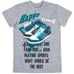 Футболка для мальчика Кеды