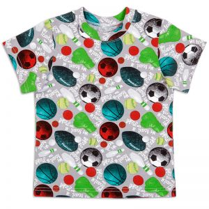 Футболка для мальчика Мяч