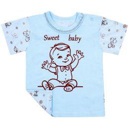 Футболочка ясельная для мальчика Sweet baby