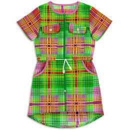 Халат-рубашка для девочки Бязь №2