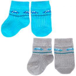 Комплект носков для новорожденного Машинка
