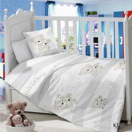 Комплект постельного белья в детскую кроватку Сатин Дружба
