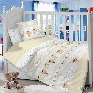 Комплект постельного белья в детскую кроватку Сатин Котята
