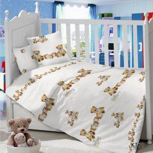 Комплект постельного белья в детскую кроватку Сатин Топтыжка