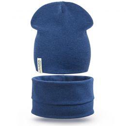Комплект шапка и шарф снуд для мальчика GC