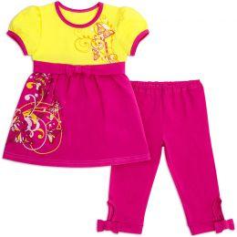 Костюм для девочки Бантик розовый