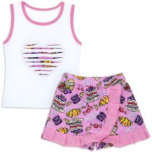 Костюм для девочки Sweets розовый