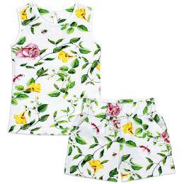 Костюм для девочки летний Цветы
