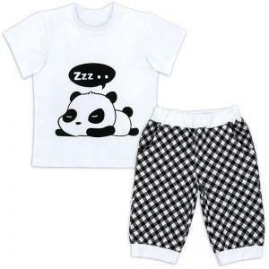 Костюм летний для мальчика Панда