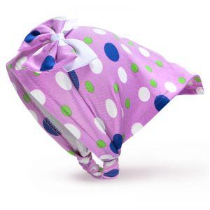Косынка повязка для девочки Конфетти