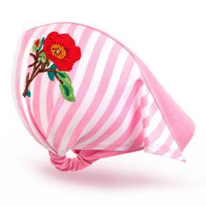 Косынка трикотажная для девочки Цветок