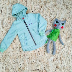 Куртка для девочки Кролик