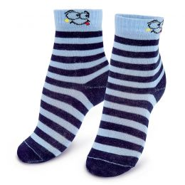 Носки детские Полоска голубой