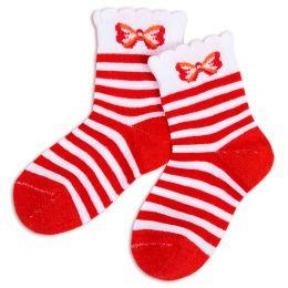 Носки детские Полосочка с бантиком