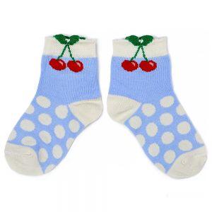 Носки детские для девочки Вишенки