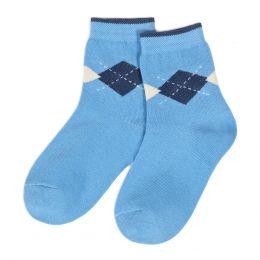 Носки детские однотонные Ромбы