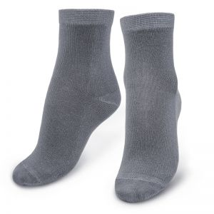 Носки детские однотонные серый
