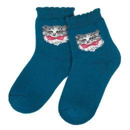 Носки махровые детские Кошечка