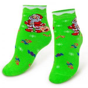 Носки махровые детские Санта