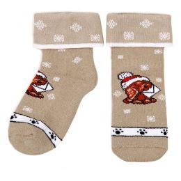Носки махровые детские Собачка