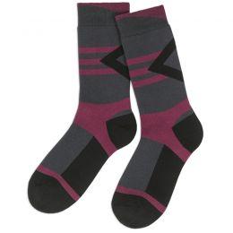 Носки махровые мужские бордовый