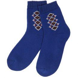 Носки махровые подростковые Орнамент