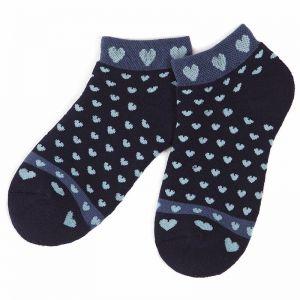 Носки махровые подростковые Сердечки