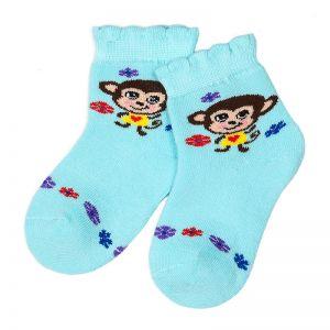 Носки махровые ясельные Обезьянки